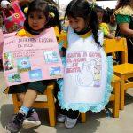 INFOVIDA   Día mundial del agua: Niñas y niños de Villa María del Triunfo se comprometen a hacer uso responsable del agua