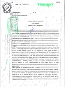 Modificación estatuto FOVIDA 2016