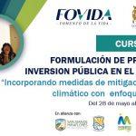 INFOVIDA | Lanzan curso de Formulación de proyectos de inversión pública con enfoque de género para funcionarios/as de Lima Sur