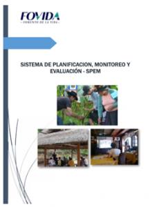 Sistema de Planificación Monitoreo y Evaluaciones (ESPEM)