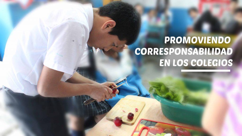 Promoviendo corresponsabilidad en los colegios