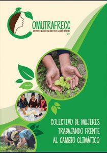 Brochure de colectivo de Mujeres Trabajando Frente al Cambio Climático SJM
