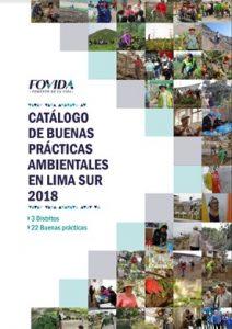 Catálogo de buenas prácticas ambientales en Lima Sur 2018