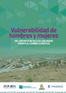 Estudio Vulnerabilidad de hombres y mujeres del distrito de Villa El Salvador frente al cambio climático