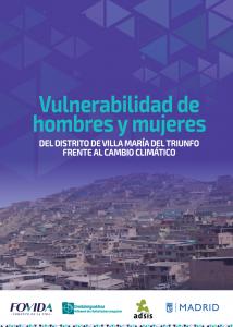 Estudio Vulnerabilidad de hombres y mujeres del distrito de Villa María del Triunfo frente al cambio climático
