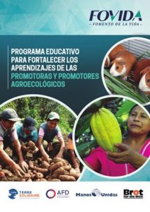 Programa educativo para fortalecer aprendizajes de las promotoras y promotores agroecológicos