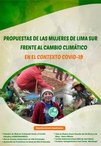 Propuestas de las mujeres de Lima Sur frente al cambio climático en el contexto de COVID-19