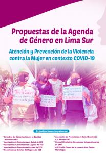 Propuestas de la agenda de género en Lima Sur