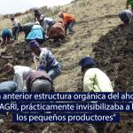 Nueva dirección del MIDAGRI busca favorecer a la agricultura familiar y promover la agroecología