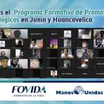 Iniciamos el  Programa Formativo de Promotores Agroecológicos en Junín y Huancavelica