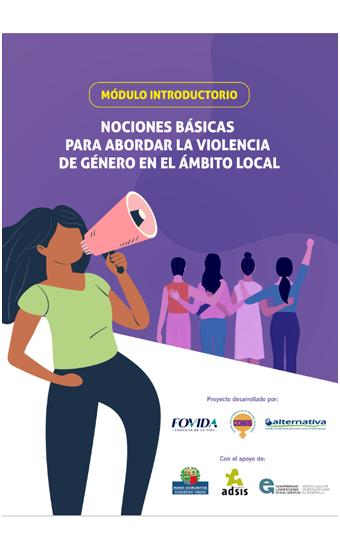 Módulo introductorio: Nociones básicas para abordar la violencia de género en el ámbito local