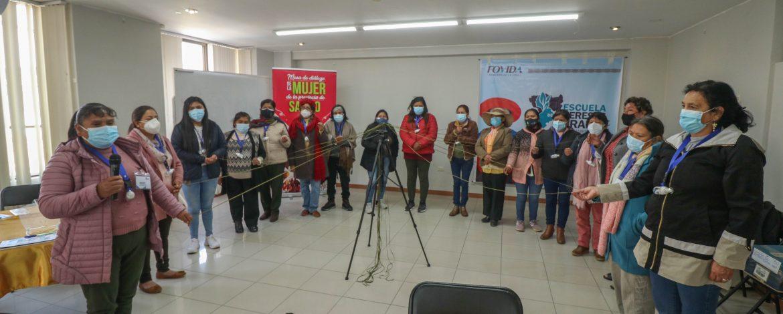 Lideresas integrantes de organizaciones de mujeres de ambas regiones proponen incidencia en cambio climático y género.
