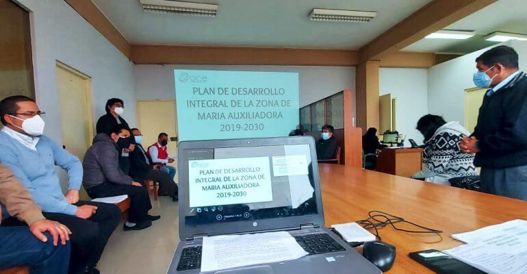 Presentación del plan integrador de SJM