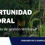 CONVOCATORIA| Especialista de gestión territorial